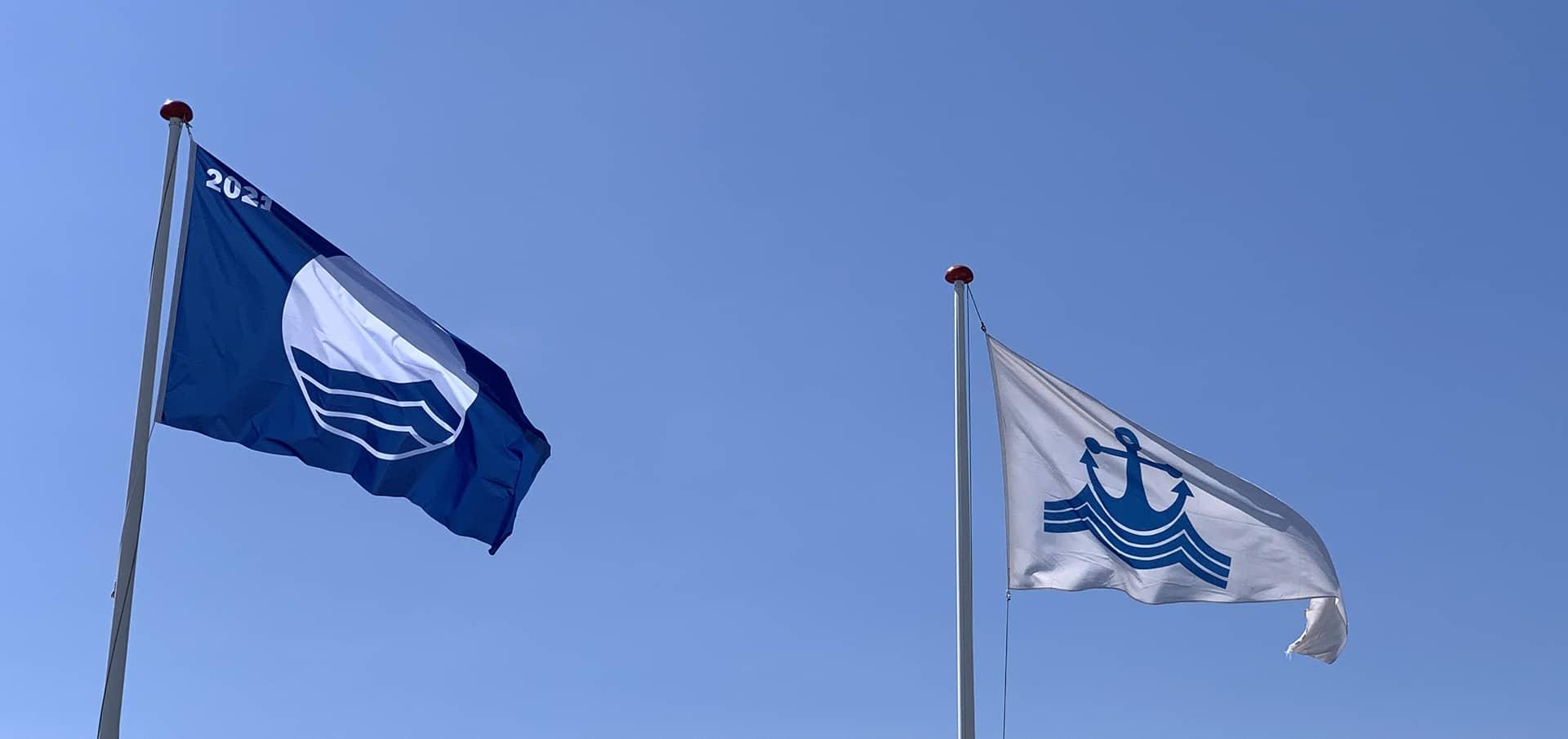 Blå flag i Ishøj Havn